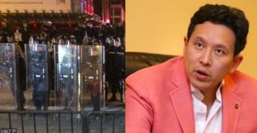 Edwin Cheng Shing-Lung on police firing shots