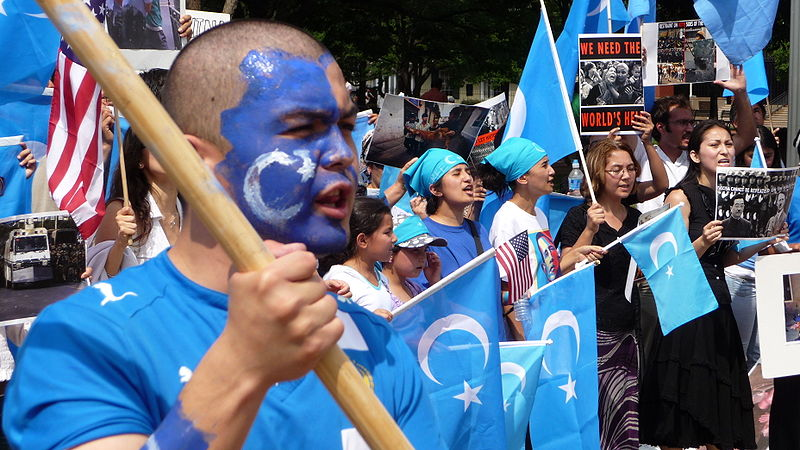 Uyghur protest abroad in Washington DC