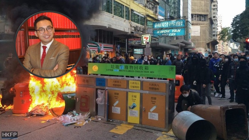 alvin yeung protests