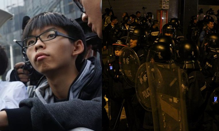 joshua wong riots