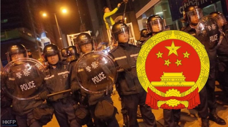 mong kok riot unrest foreign ministry