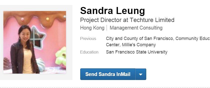 Sandra Leung.