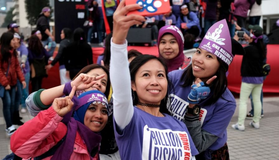 one billion rising event domestic workers solidarity