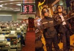 stock market hang seng riots