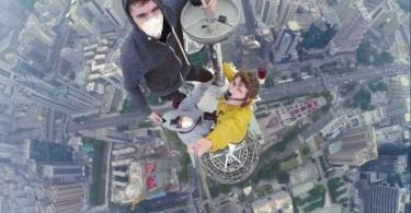 russian climbers shenzhen