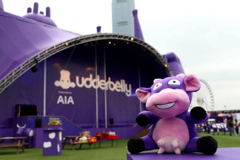 udderbelly festival cow