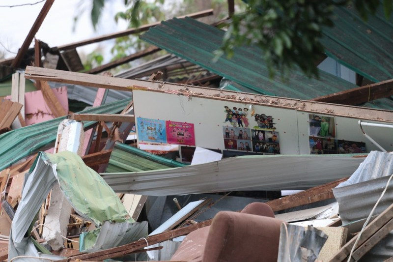 hut destroyed kwu tung