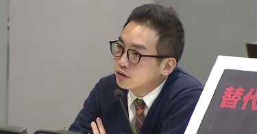 Alvin Yeung at the Finance Committee meeting.