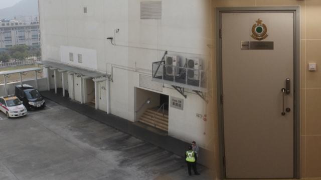 Air cargo terminal gunshot