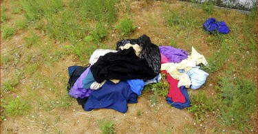 wasted clothes