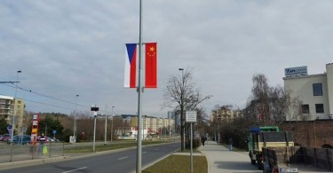 czech china flag