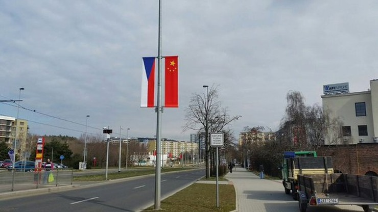 czech china flag