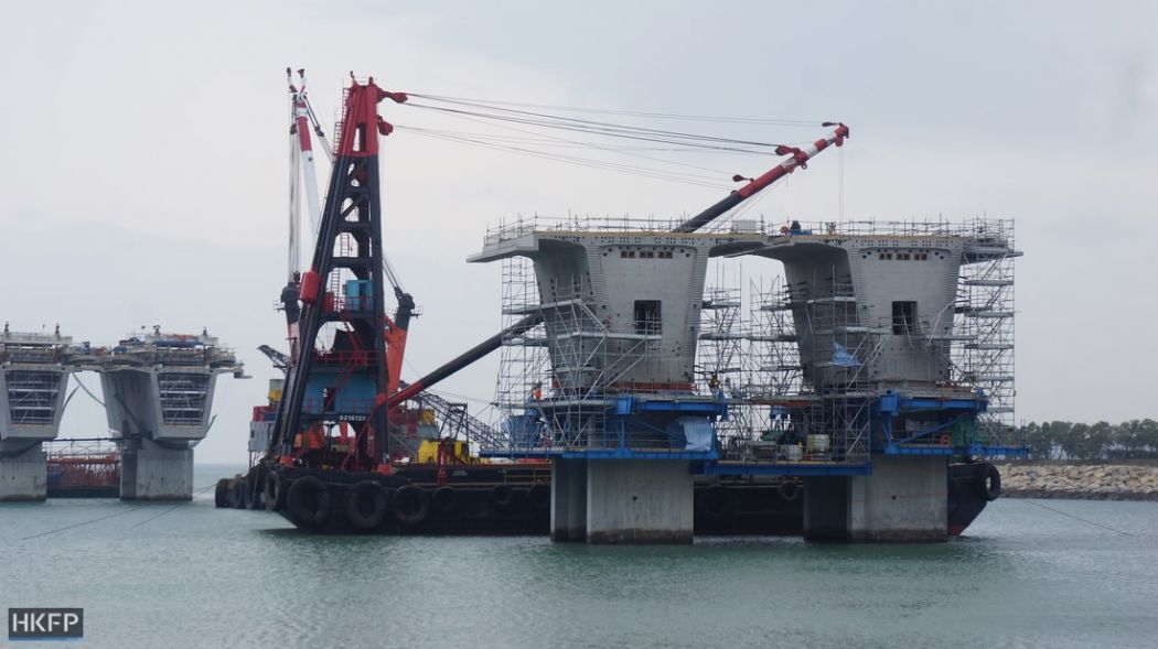 hk macau zuhai bridge
