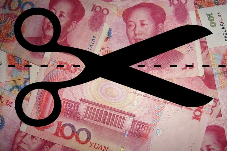 china cut GDP