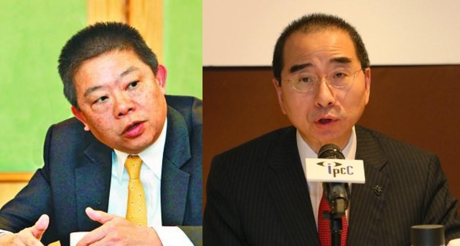 Chu Man-kin Larry Kwok Lam-kwong IPCC