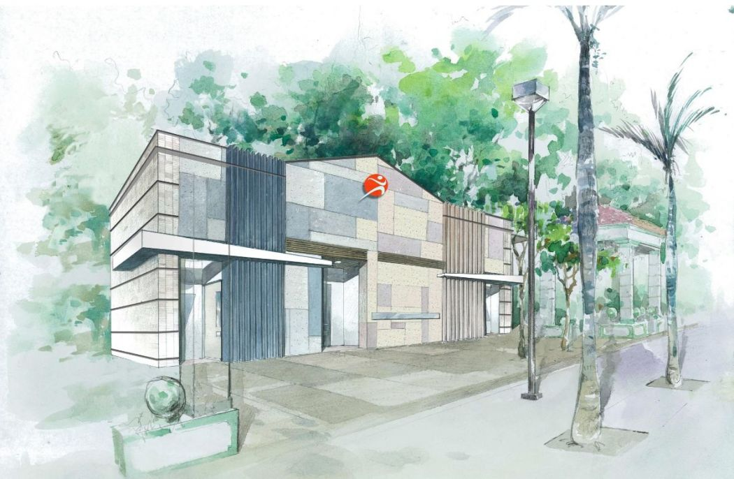 The design of the new Sheung Shui public toilet.