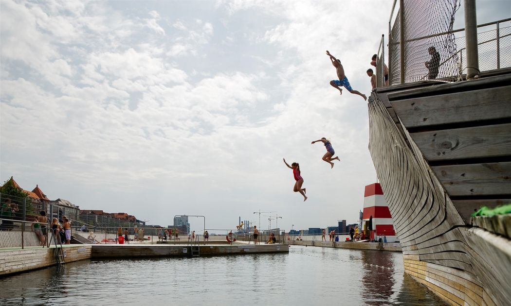 harbour swimming