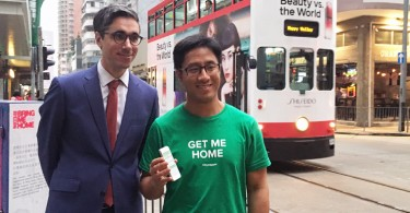 Citymapper's Gene Soo (right) and Hong Kong Tramways' Emmanuel Vivant.
