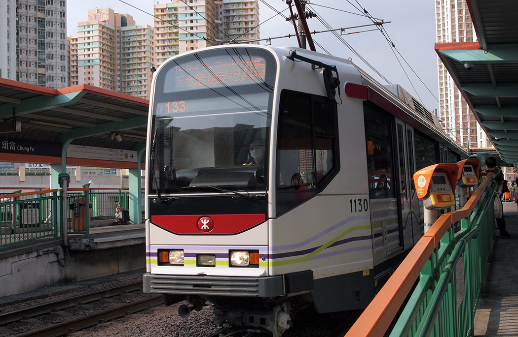 A Light Rail train.