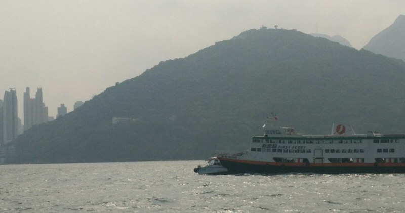 Ferry clashes with junk boat at sea near Sai Wan