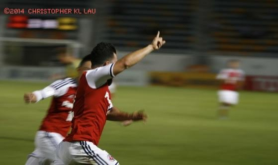 Sealy scores for South China in the AFC Cup