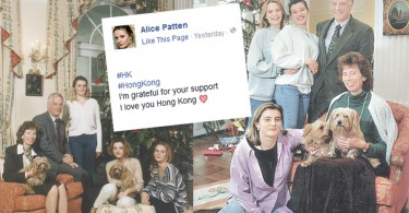 Responses from Alice Patten's fan page.