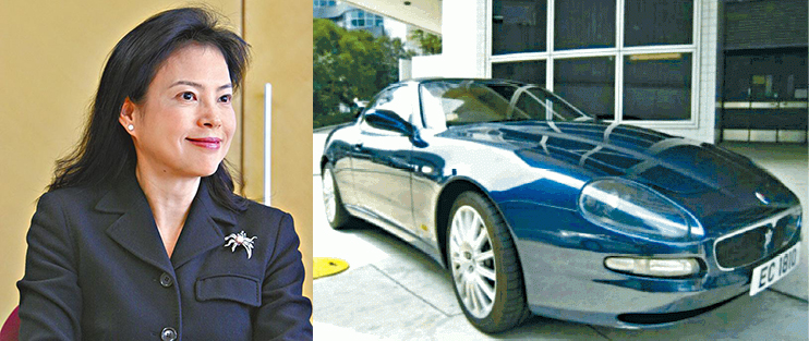 Cheyenne Chan; the Maserati Coupe Cambiocorsa.