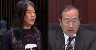 Leung Kwok-hung and Chan Kam-lam