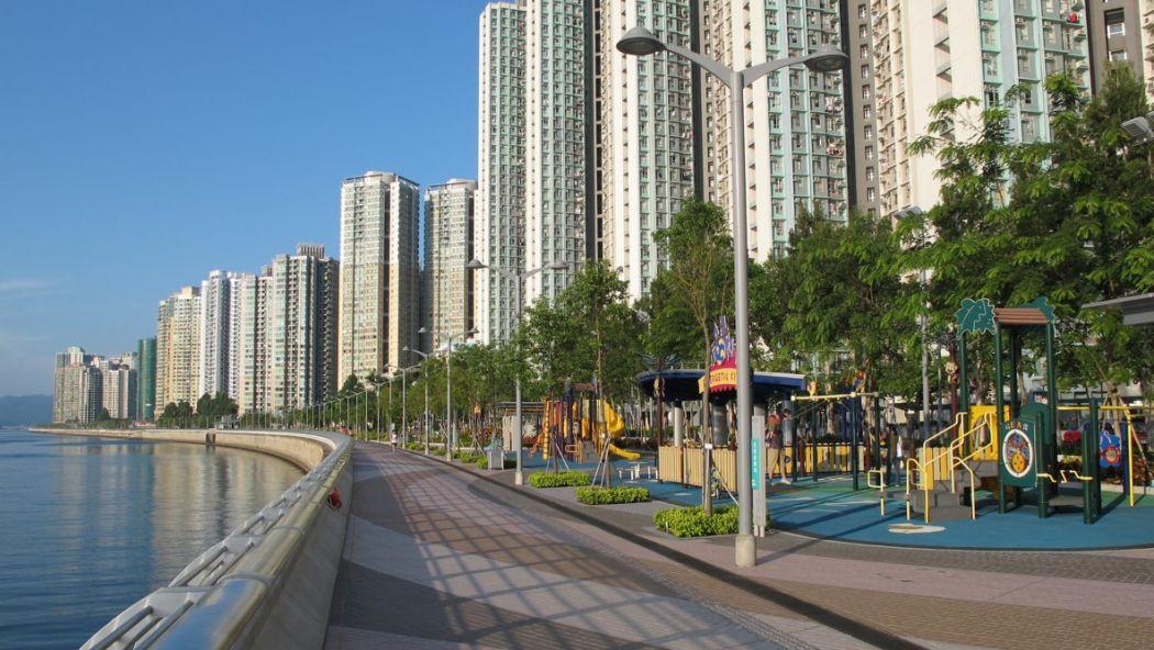 waterfront promenade