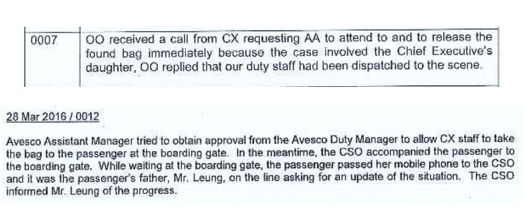Reports from Airport Authority and Cathay Pacific.