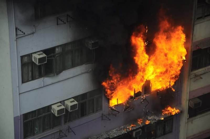 Wan Chai Fire