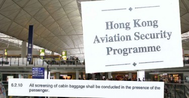 The Hong Kong Aviation Security Programme.