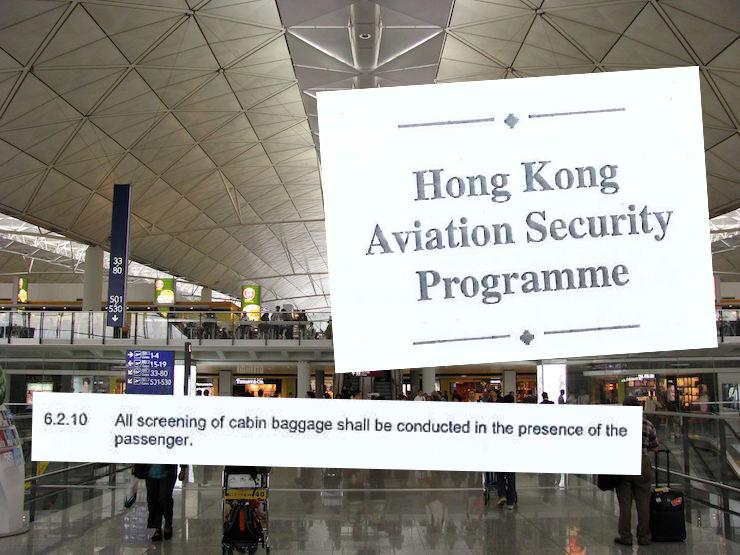 The Hong Kong Aviation Security Programme.