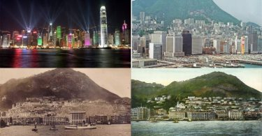 evolution of the hong kong skyline