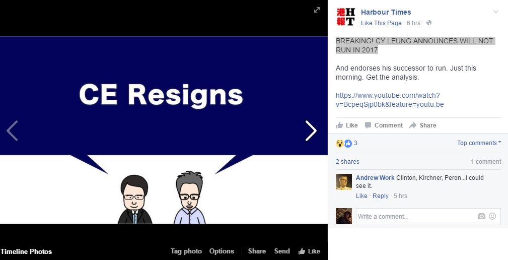 CY REsigns Harbour Times April Fools