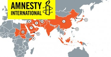 Amnesty International Map executions