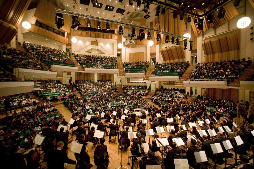 The Hong Kong Philharmonic Orchestra.