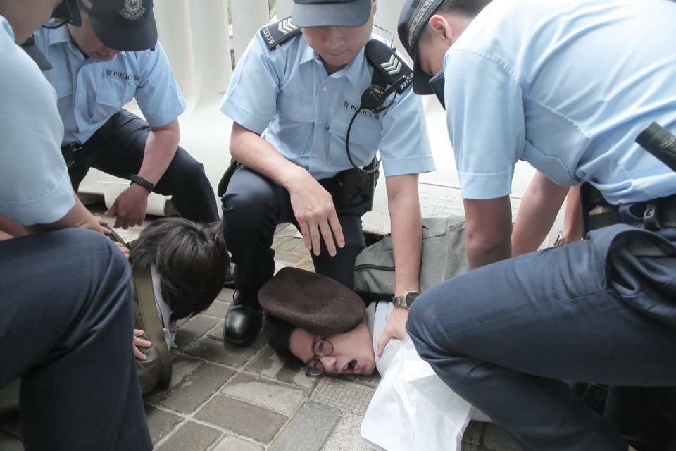 Demosistō detention zhang