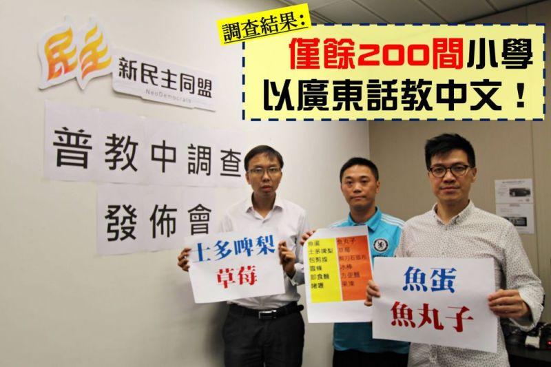 Cantonese Mandarin Neo Democrats
