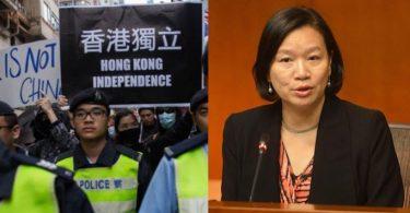 Priscilla Leung HK Independence.