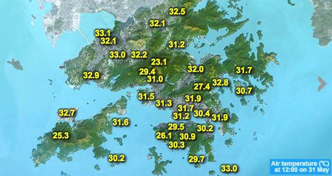 hko weather