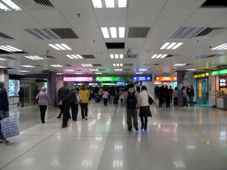 Lo Wu Border Crossing