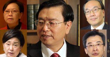 Zhang Dejiang pro democrats