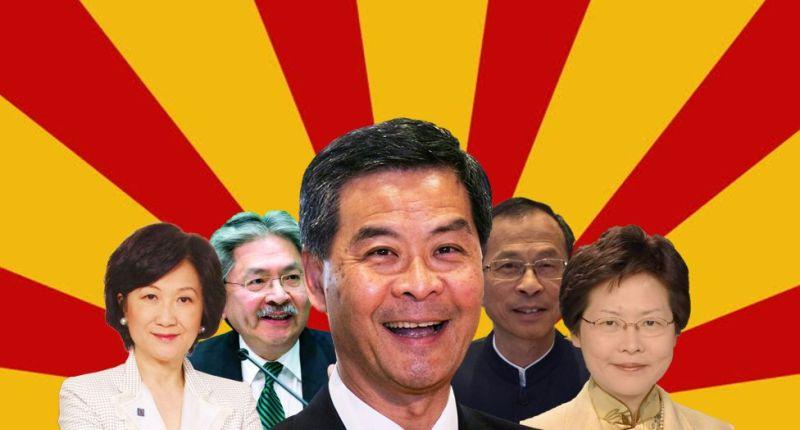 chief executive elections cy regina john tsang jasper carrie