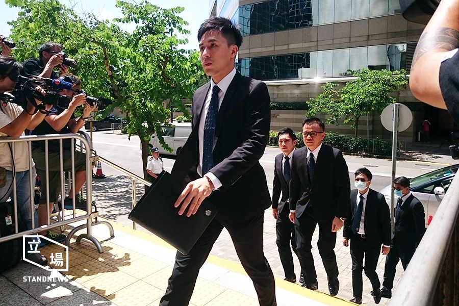 defendants of ken tsang assault case