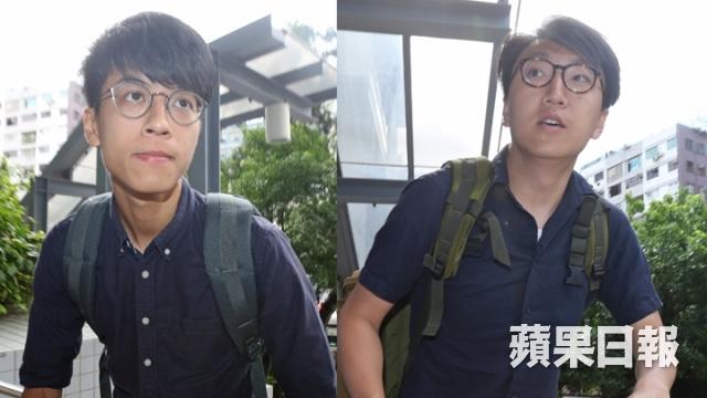 Edward Leung Tin-kei and Roy Wong Toi-yeung