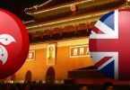 hong kong uk flag china