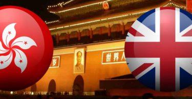 hong kong uk flag china
