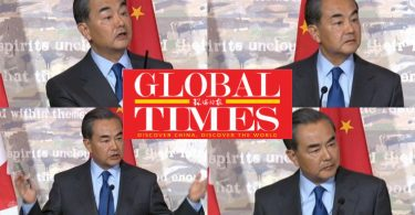 Wang Yi global times