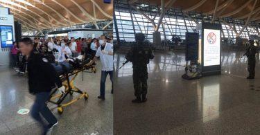 Shanghai airport explosion